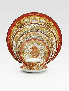 Versace Asian Dream Service Plate