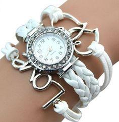 Náramkové dámské hodinky se zirkony bílé Na tento produkt se vztahuje nejen  zajímavá sleva d062d33028