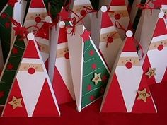 I am elsewhere talking about language. Two months to Yule. Here's some countdown calendar ideas . You have about a month to make it and fi. Christmas Craft Fair, Christmas Craft Projects, Felt Christmas Decorations, Christmas Wood, Christmas Activities, Diy Holiday Gifts, Holiday Crafts, Diy Advent Calendar, Countdown Calendar