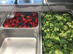 Fresh fruits and veggies ready for @SchoolLunch @DiscoveryAPS @SchoolMealsRock