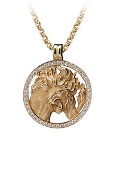 Magerit - Zodiac Collection: Necklace Big Leo