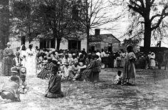 Slave wedding at the Joseph Davis plantation. Joseph was Jefferson Davis' brother.