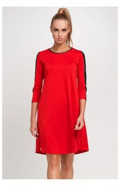 a80d42081dd Robe Model M237 Red . Makadamia . 44114 Robes Courtes