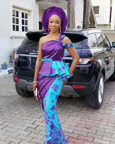 """689 Likes, 23 Comments - Doyinsola... (@iamdivanista) on Instagram: """"Draped In Purple  #bold17"""""""