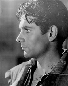 Laurence Olivier as Heathcliff in William Wyler's, Wuthering Heights (1939).   This performance established Olivier as an international matinee idol