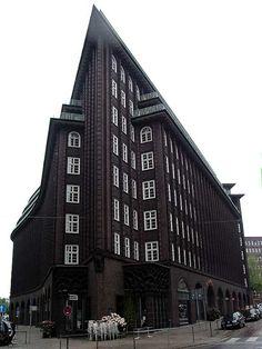 Chilehaus (Chile House) by Fritz Höger, Kontorhausviertel, Hamburg