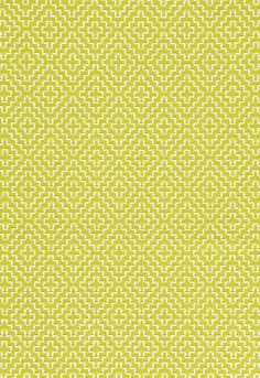 Schumacher Soho Weave. Would this be pretty for the yellow chair? It is a weave too!