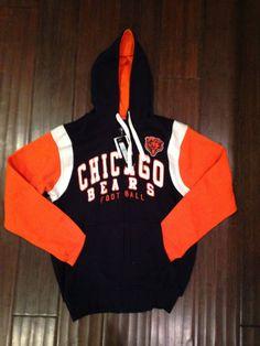 651ed4584eac1 NFL Chicago Bears Scrimmage Full Zip Hooded Sweatshirt www.mancavesonline.com  Nfl Team Apparel