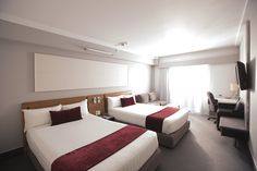Superior Twin rooms, ideal for larger or family groups