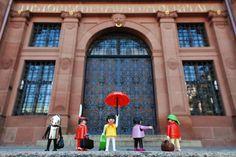 40 Jahre Playmobil: Das Historische Museum der Pfalz zeigt von 1. Dezember 2013 bis 22. Juni 2014 auf 2000 Quadratmetern Ausstellungsfläche Playmobil-Figuren zu historischen Themen. (Bild: Historisches Museum der Pfalz)