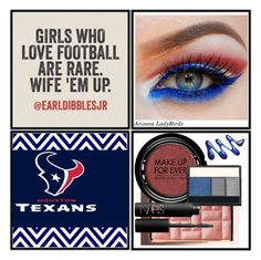 """Houston Texans... Love Football 2016"" by arizonaladybirds on Polyvore featuring beauty, Bobbi Brown Cosmetics, MAKE UP FOR EVER, Lancôme, NARS Cosmetics, NFL, HoustonTexans, AZLadyBirds, NFLFanStyle and NFLfemale"