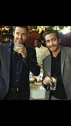 Hugh Jackman & Jake Gyllenhaal ♥