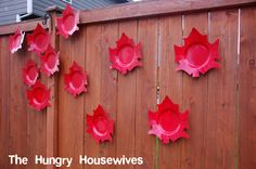 The Hungry Housewives Blog:Canada Day Decorations (& Recipes)
