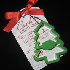 Cookie Exchange Invitations Set of 10 by lalissadesigns on Etsy