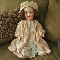 ANTIQUE-VINTAGE-ARMAND-MARSEILLE-990-BISQUE-COMPOSITION-CHARACTER-BABY-DOLL-24
