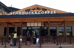 News and Photo Tour: The Downtown Disney Marketplace Starbucks is Now Open! #WDW