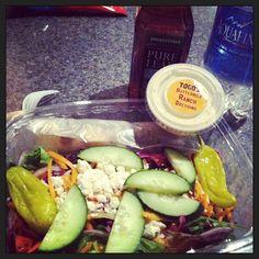 Togo's Salad - Instagram photo by @glitterntattoos