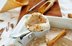nlc-fahéjaskókusztejes fagyi Parfait, Tej, Ice Cream, Vegan, Desserts, Recipes, Food, No Churn Ice Cream, Tailgate Desserts