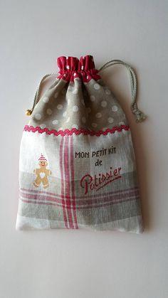 Grand Pochon  Mon Petit Kit Pâtissier   et ses accessoires