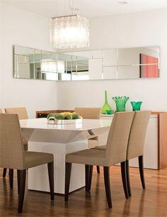 Brincando com espelhos: ideias para realçar a decoração - Casa