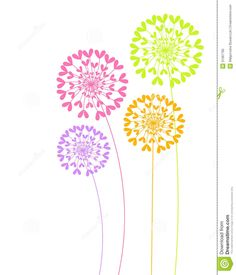 dandelion vector - Google Search