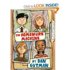 The Homework Machine -recommended read aloud for intermediate grades.
