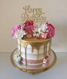 Creative birthday cake ideas for girls – Artofit Fancy Cakes, Cute Cakes, Pretty Cakes, 25th Birthday Cakes, Birthday Cakes For Women, 80th Birthday, Gorgeous Cakes, Amazing Cakes, Birthday Cake Decorating