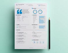 次の @Behance プロジェクトを見る : 「Personal Resume & Promotion」 https://www.behance.net/gallery/20804925/Personal-Resume-Promotion