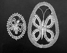 paličkované velikonoční vajíčko motýlek/ bobbin lace easter egg ornament butterfly Brooch, Knitting, Easter, Tricot, Breien, Weaving, Stricken, Crocheting, Yarns