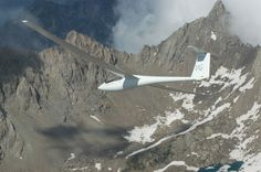Gliding in the mountains