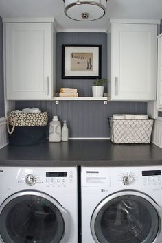 Laundry 1 | Short on Space in the Laundry Room? Try One of These Simple Ideas!