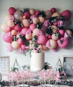 Let There Be Cake - Wedding Balloon Decor Ideas - Photos
