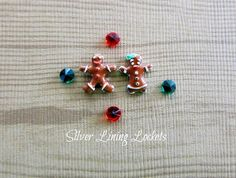 Lot of 6 Christmas Holiday Floating Charms by SilverLiningLockets