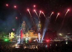 Dolores Hidalgo, Guanajuato Celebrando el dia de la Independencia