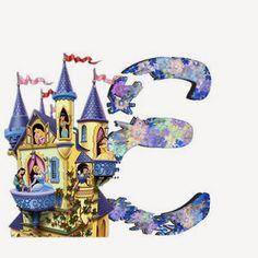 Alfabeto de Princesas Disney. | Oh my Alfabetos! Disney Alphabet, Cute Alphabet, Alphabet Letters, Alfabeto Disney, Disney Princess Party, Letter Art, Snow Globes, Minne, Disney Princesses