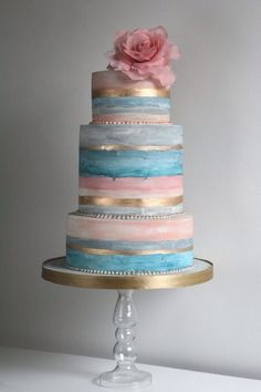 Wedding Cootique | Wedding Cake. 36 Torte Acquarellate [FOTO]
