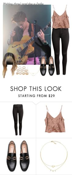"""""""Watching Harry's secret show in London"""" by aasne-midtbo ❤ liked on Polyvore featuring H&M and Forever 21"""