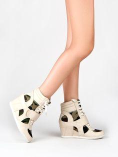 The Wedge Sneaker trend
