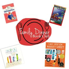 Family Dinner Book Club suggests a book to read with your family on the 1st of each month. On the 15th of the month, we share all the dinner plan details.