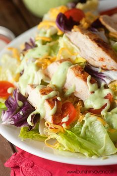 Southwestern Avocado Salad Dressing