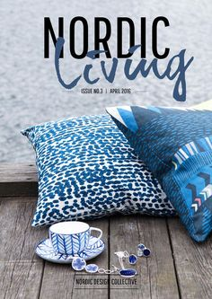 Nordic Living Blue Moods Blue is a one of the biggest trends - and gets us in a summer mood! Crisp summer skies and blue sea horizons inspired us for this issue. Nordic Living, Summer Sky, Crisp, Throw Pillows, Mood, Trends, Sea, Heartland, Inspired