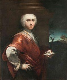 Ritratto di Charles Hanbury Williams.  1720. Pinacoteca Nazionale di Bologna