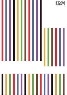Susan Murphy, DA dOgilvy offre 42 Affiches Minimalistes dIBM à Imprimer