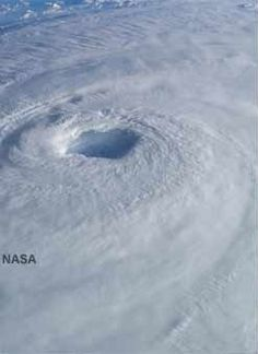 Hurricane from space...