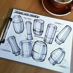 Each day, I pull out a fresh sheet of paper and practice the fundamentals of sketching, in an effort to develop my skills and ultimately, effectively communicate my ideas.