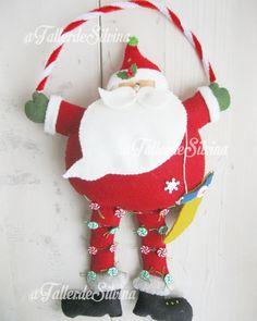Christmas Crafts, Christmas Ornaments, Felt Crafts, Christmas Stockings, Santa, Holiday Decor, Diy, Yule Decorations, Holiday Ornaments