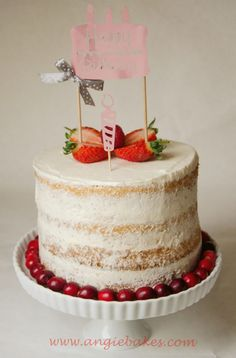(Polo) Nahá torta s malinami a mascarpone krémom | Angie Naha, Vanilla Cake, Desserts, Polo, Mascarpone, Vanilla Sponge Cake, Polos, Deserts, Dessert