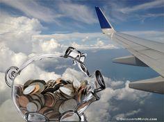 Comment payer son billet d'avion moins cher et économiser (16 astuces)