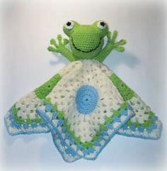 Frog Lovey Crochet Pattern pattern by Shalene McKay  $6.00 AUD