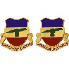 U.S. Army 73rd Cavalry Regiment Unit Crest (Honor, Fidelity, Courage)